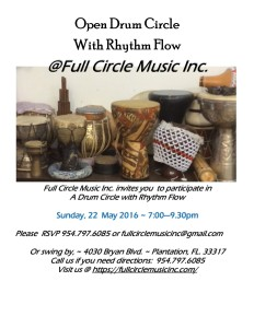 Drum Circle with Rhythm Flow